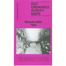 Walsall (NW) 1902 - Old Ordnance Survey Maps - The Godfrey Edition