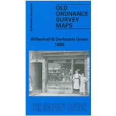 Willenhall and Darlaston Green 1885 - Old Ordnance Survey Maps - The Godfrey Edition