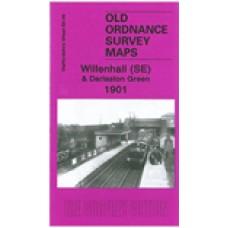 Willenhall (SE) and Darlaston Green 1901 - Old Ordnance Survey Maps - The Godfrey Edition