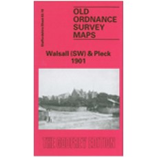 Walsall (SW) and Pleck 1901 - Old Ordnance Survey Maps - The Godfrey Edition