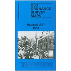 Walsall (SE) 1901 - Old Ordnance Survey Maps - The Godfrey Edition