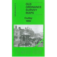 Dudley 1882 - Coloured - Old Ordnance Survey Maps - The Godfrey Edition