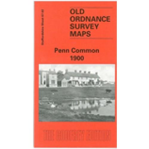 OLD ORDNANCE SURVEY MAP PENN COMMON 1900