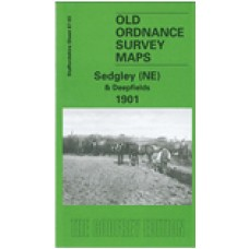 Sedgley (NE) and Deepfields 1901 - Old Ordnance Survey Maps - The Godfrey Edition