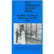Bradley, Coseley and Wednesbury Oak 1901 - Old Ordnance Survey Maps - The Godfrey Edition