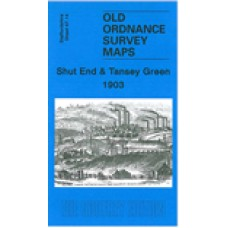 Shut End and Tansey Green 1903 - Old Ordnance Survey Maps - The Godfrey Edition