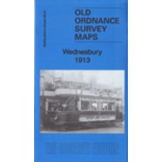 Wednesbury 1913 - Old Ordnance Survey Maps - The Godfrey Edition