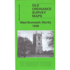 West Bromwich (North) 1938 - Old Ordnance Survey Maps - The Godfrey Edition