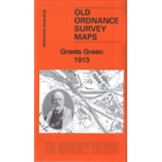 Greets Green 1913 - Old Ordnance Survey Maps - The Godfrey Edition