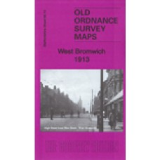 West Bromwich 1913 - Old Ordnance Survey Maps - The Godfrey Edition
