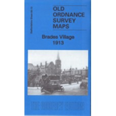 Brades Village 1913 - Old Ordnance Survey Maps - The Godfrey Edition