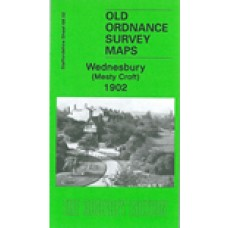 Wednesbury (Mesty Croft) 1902 - Old Ordnance Survey Maps - The Godfrey Edition