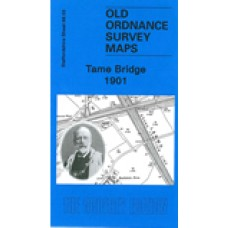 Tame Bridge 1901 - Old Ordnance Survey Maps - The Godfrey Edition