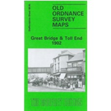 Great Bridge and Toll End 1902 - Old Ordnance Survey Maps - The Godfrey Edition