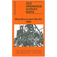 West Bromwich (North) 1885 - Old Ordnance Survey Maps - The Godfrey Edition