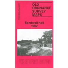 Sandwell Hall 1902 - Old Ordnance Survey Maps - The Godfrey Edition