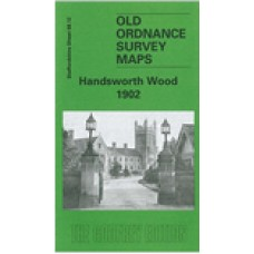 Handsworth Wood 1902 - Old Ordnance Survey Maps - The Godfrey Edition