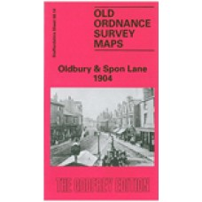 Oldbury and Spon Lane 1904 - Old Ordnance Survey Maps - The Godfrey Edition
