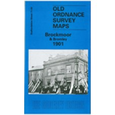 Brockmoor and Bromley 1901 - Old Ordnance Survey Maps - The Godfrey Edition