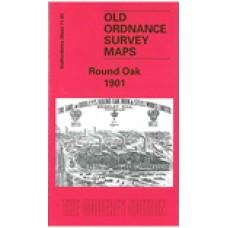 Round Oak 1901 - Old Ordnance Survey Maps - The Godfrey Edition