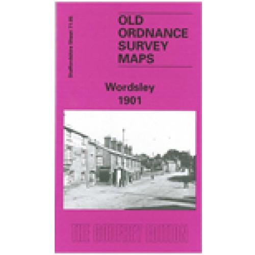Staffordshire 1901 Godfrey Edition Old Ordnance Survey Maps Brierley Hill West