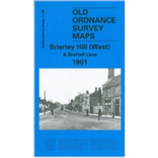 Brierley Hill (West) and Brettell Lane 1901 - Old Ordnance Survey Maps - The Godfrey Edition