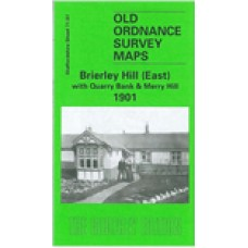 Brierley Hill (East) with Merry Hill 1901 - Old Ordnance Survey Maps - The Godfrey Edition