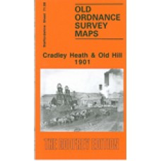 Cradley Heath and Old Hill 1901 - Old Ordnance Survey Maps - The Godfrey Edition