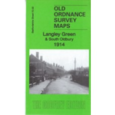 Langley Green & South Oldbury 1914 - Old Ordnance Survey Maps - The Godfrey Edition