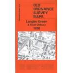 Langley Green & South Oldbury 1938 - Old Ordnance Survey Maps - The Godfrey Edition