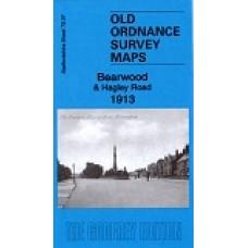 Bearwood 1913 - Old Ordnance Survey Maps - The Godfrey Edition