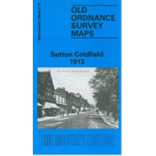 Sutton Coldfield 1913  - Old Ordnance Survey Maps - The Godfrey Edition