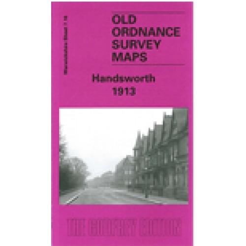 Old Ordnance Survey Maps Birmingham Winson Green /& Hockley 1888 Godfrey Edition