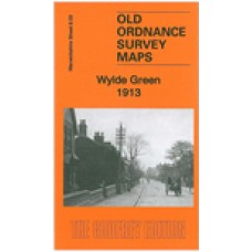 Wylde Green 1913 - Old Ordnance Survey Maps - The Godfrey Edition
