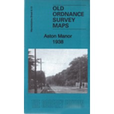 Aston Manor 1938 - Old Ordnance Survey Maps - The Godfrey Edition