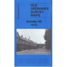 Gravelly Hill 1913 - Old Ordnance Survey Maps - The Godfrey Edition
