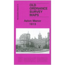 Aston Manor 1913 - Old Ordnance Survey Maps - The Godfrey Edition
