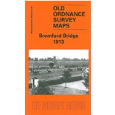 Bromford Bridge 1913 - Old Ordnance Survey Maps - The Godfrey Edition