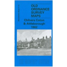 Chilvers Cotton and Attleborough 1902 - Old Ordnance Survey Maps - The Godfrey Edition