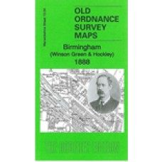 Winson Green and Hockley 1888 - Old Ordnance Survey Maps - The Godfrey Edition