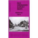 Harborne 1914 - Old Ordnance Survey Maps - The Godfrey Edition