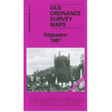 Edgbaston 1887 - Coloured - Old Ordnance Survey Maps - The Godfrey Edition
