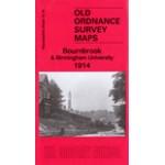Bournbrook & Birmingham University 1914 - Old Ordnance Survey Maps - The Godfrey Edition