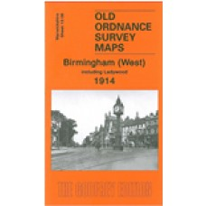 Birmingham (West) 1914  - Old Ordnance Survey Maps - The Godfrey Edition
