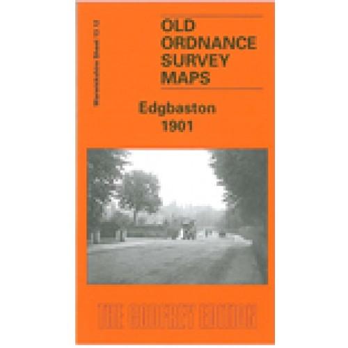 Old Ordnance Survey Detailed Maps Harborne Warwickshire 1938 Godfrey Edition