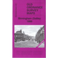 Birmingham (Saltley) 1886 (Coloured Edition) - Old Ordnance Survey Maps - The Godfrey Edition