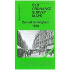 Birmingham Central 1888 (Coloured Edition) - Old Ordnance Survey Maps - The Godfrey Edition