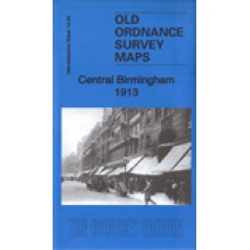 Birmingham Central 1913 - Old Ordnance Survey Maps - The Godfrey Edition
