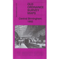 Birmingham Central 1902 - Old Ordnance Survey Maps - The Godfrey Edition