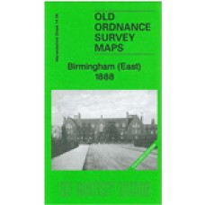 Birmingham (East) 1888 coloured - Old Ordnance Survey Maps - The Godfrey Edition